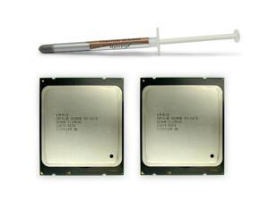 Matched Pair: Intel Xeon E5-2670 2.6GHz 8 Core Processor, 20MB Cache, SR0H8 Sandy Bridge EP Socket 2011 with Thermal Grease, Does not include heatsink