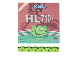 KMC Chain 1/2X1/8 Hl710 Green 1/2Link 100L