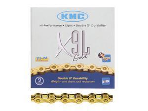 KMC X9 chain 9-speed gold