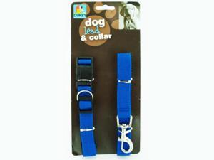 Dog Collar and Lead Set - Set of 48 (Pet Supplies Collars Leashes Harnesses) - Wholesale