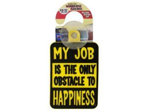Novelty Suction Cup Window Sign - Set of 144 (Automotive Supplies Auto Interior Accessories) - Wholesale