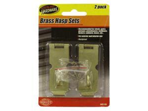 Brass Hasp Set - Set of 24 (Hardware Latches Hasps) - Wholesale
