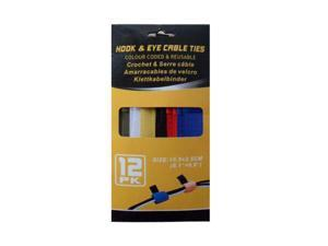 Hook and loop cable ties - Set of 72 (Hardware Cable Management) - Wholesale