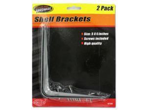Shelf brackets with screws - Set of 72 (Hardware Braces Brackets) - Wholesale