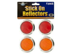 Stick-On Reflectors - Set of 96 (Automotive Supplies Auto Exterior Accessories) - Wholesale