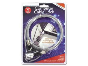 Computer cable lock - Set of 12 (Tools Locks) - Wholesale