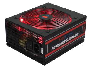 PC Power & Cooling FireStorm Gaming Series FPS1050-A4M00 1050 Watt (1050W) 80 Plus Gold Fully-Modular Active PFC ATX PC Power Supply Performance Grade