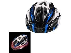 LONOVE Adjustable Outdoor Sports Luminous Night Light Adult Safety Cycling Bicycle Bike Helmet Caution Warning Light with Visor