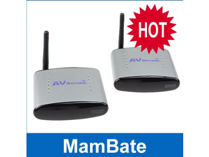 IMAGE® 150M 2.4GHz Audio Video AV Wireless Transmitter receiver IR remoter - Support 4 groups of channels 110V-220V