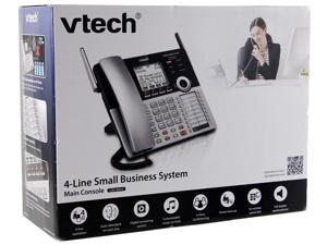VTech 4-Line Small Business Phone System DECT 6.0 Expandable  4-Line Small Business Office Phone with Answering System