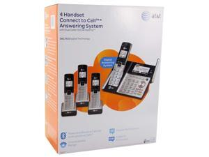 AT&T TL96423  DECT 6.0 4-Handset Cordless Phone Answering System
