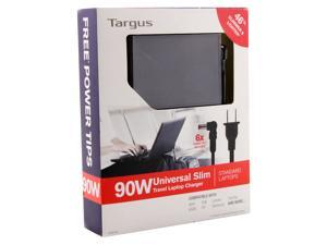Targus APA92US 65W Ultra-Slim Notebook AC Adapter w/5 Power Tips for ASUS Lenovo
