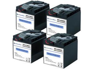 Powerwarehouse APC SUA2200ICH UPS Battery - Premium Powerwarehouse 12V Lead Acid Battery Catridge #55 (2 Pack)