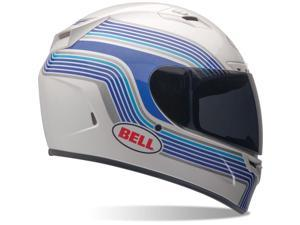 2014 Bell Vortex Band Motorcycle Helmets - White - Small