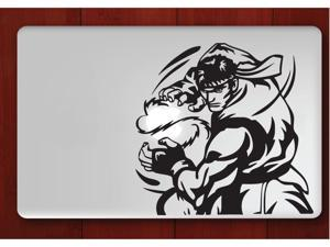 "Street Fighter Ryu Hadouken macbook sticker decal for macbook air / pro 13"" vinyl art"