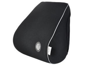 GIGI Memory Foam Car Neck Pillow&#59; Head Pillow&#59; Comfortable Pillow&#59; Car Headrest &#59; Neck Rest Travel Pillow &#59;- Black