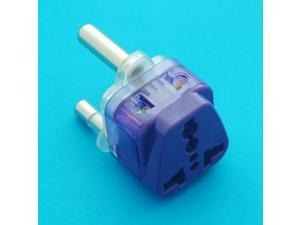 Universal Travel Adapter UK USA EURO AUS to South Africa Type M AC Power Plug with Dual Receptacles