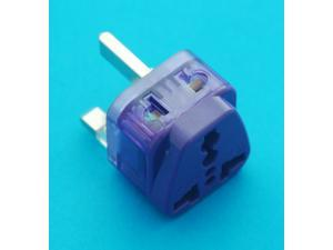 Universal Travel Adapter AUS EURO USA UK to United Kingdom Hong Kong Singapore AC Power Plug with Dual Ports