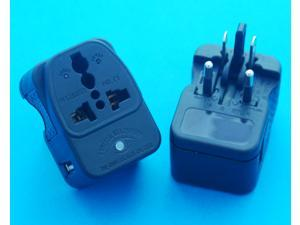 Universal Travel Adapter All-in-one with USB Charger Port Output 2100mA Worldwide UK USA AUS EURO AC Power Plug