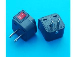 USA Japan Taiwan Canada Universal Travel Adapter Converter AC Power Plug with Switch