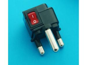 South Africa Universal Travel Adaper AC Power Plug with Switch