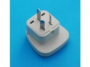 China Australia New Zealand Universal Travel Adapter AC Power Plug with Safety Shutter
