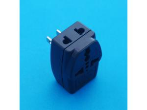 UK EURO AUS to USA Japan Canada Taiwan Universal Travel Adapter AC Power Plug with Multiple Receptacles