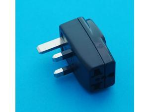 USA AUS EURO to UK Hong Kong Singapore Universal Travel Adapter AC Power Plug with Multiple Receptacles