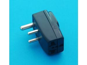 USA UK AUS EURO to India Type D Universal Travel Adapter AC Power Plug with Mutiple Receptacles