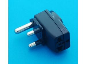 UK AUS USA EURO to South Africa 8.7mm Universal Travel Adapter AC Power Plug with Multiple Receptacles