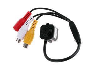 Mini Tiny Spy Hidden Pinhole CCTV Security Surveillance Color Video Camera Wired Cam