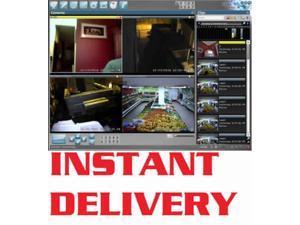 Blue Iris Surveillance Software Full Version Supports Up to 64 IP Cameras