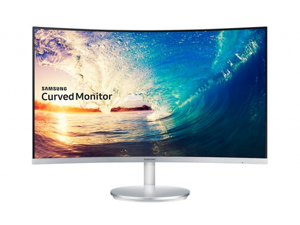 SAMSUNG C27F591F 1800R Curved Free Sync LED 27-Inch Full HD 1920x1080 HDMI VGA DisplayPort Monitor with Super Slim Curved Design