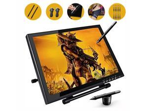 Ugee UG1910 19 Inch Graphics Drawing Pen Display Monitor with 2 Original Rechargeable Pens,Extra 10pcs Pen Nibs, 1pc Drawing Glove and Screen Protector
