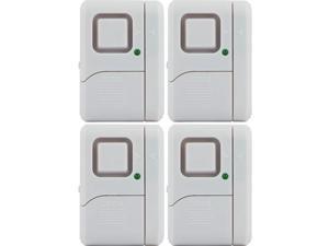 GE 45174 Magnetic Indoor Window Alarms, 4 pk