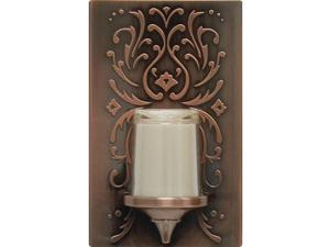 GE 11258 Faux Bronze Candle LED Night Light