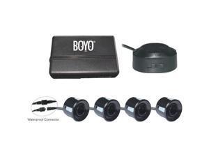 BOYO VTSR120 4 Rear Parking Sensors with Waterproof Connectors (Black)