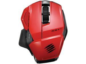 MADCATZ MCB437170013/04/1 Office R.A.T.(TM) M Wireless Mobile Mouse (Red)