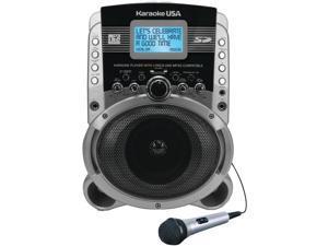 "KARAOKE USA SD519 Portable Multiformat Digital Karaoke System with 3.2"" LCD"