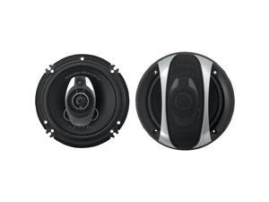 """POWER ACOUSTIK GF-653 Gothic Series Coaxial Speakers (6.5"""", 2 Way, 350 Watts)"""