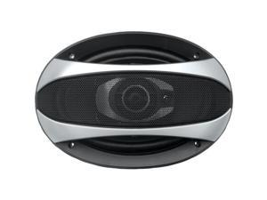"""POWER ACOUSTIK GF-693 Gothic Series Coaxial Speakers (6"""" x 9"""", 3 Way, 500 Watts)"""