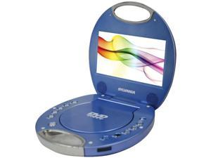 "SYLVANIA SDVD7046-BLUE 7"" Portable DVD Players with Integrated Handle (Blue)"