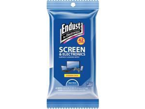ENDUST EFE14712 Screen & Electronic Wipes Soft Pack, 42ct