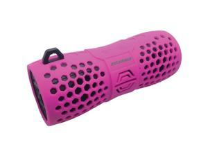 SYLVANIA SP332 -PINK Water-Resistant Portable Bluetooth(R) Speaker (Pink)