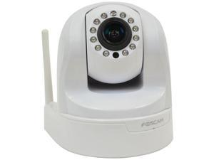 Foscam Fi9826pw Fi9826p Plug & Play 1.3 Megapixel 3x Optical Zoom H.264 Pan/tilt Wireless Ip Camera (white)  8.00in. x 6