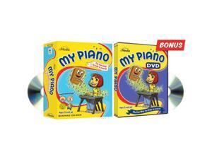 EMEDIA EK09147 My Piano CD-ROM & DVD 2-Pack