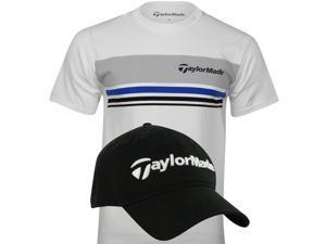 TaylorMade Men's T-Shirt & Hat Bundle