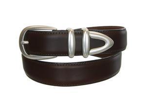Canterbury Golf Oil Tan Leather Belt Set