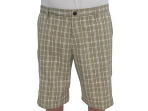 Adidas Plaid Tech Cargo Shorts