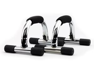 Wacces Chrome Push-up Stand Bar for Workout Exercise